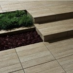 "Tagina offers five tile collections in 20mm/3/4"" thicknesses, which can be dry-laid on grass, gravel, dirt and cement with or without adhesives."