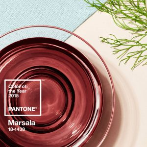 Pantone Color of the Year 2-15: Marsala