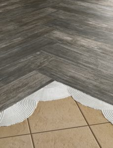 Restore HDP is one of Florida Tile's Thinner lines of thin, large-format porcelain tiles