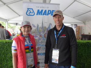 Bob Herman, of  NTCA Five Star Contractor Superior Tile & Marble and wife Pene. Bob recently completed the LoToJa 200-mile cycling event from Logan, Utah to Teton Village in Jackson Hole, Wyo.