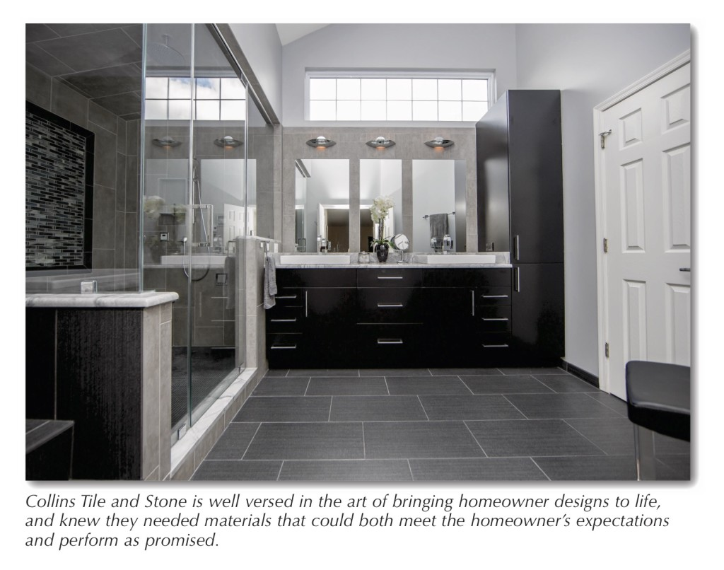 Reimagining A Master Bathroom With Laticrete Products