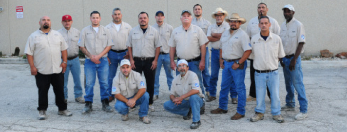 J&R Tile's crew of installers
