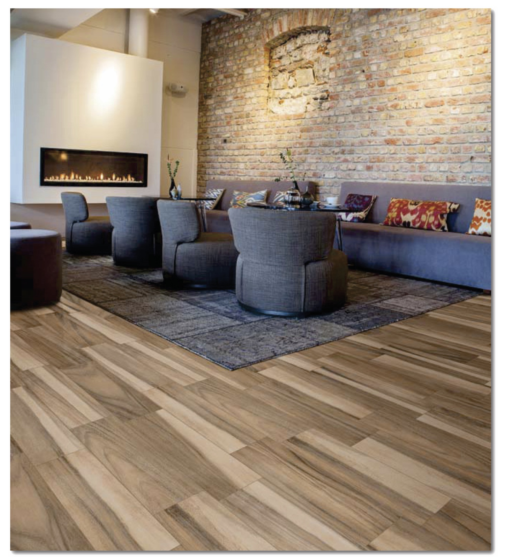 Tile flooring trends