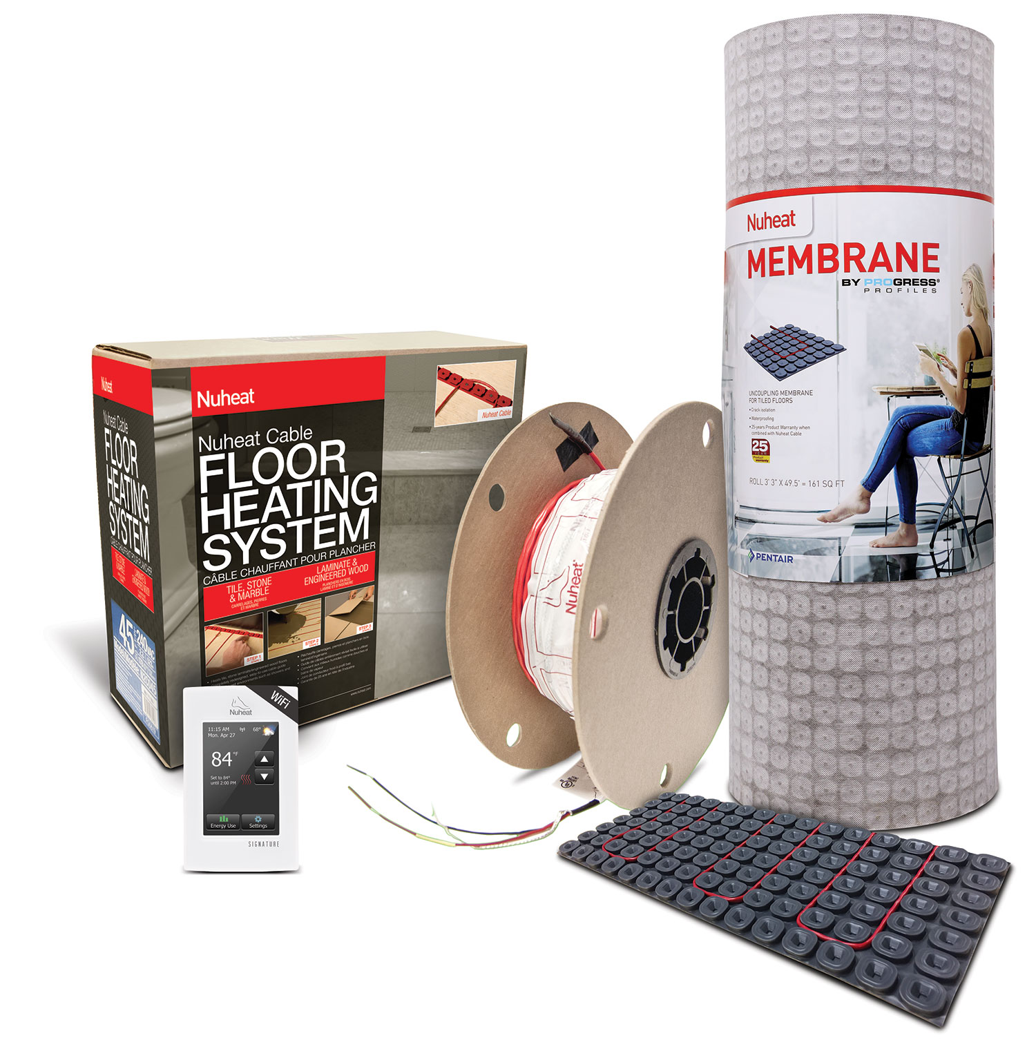 Nuheat Electric Floor Heat Standard Mats Meze Blog