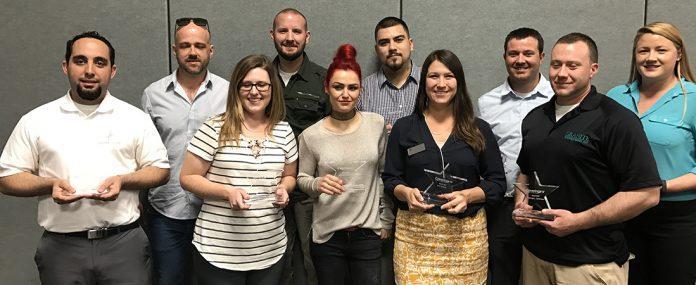 2017 Rockstar winners ar Coverings