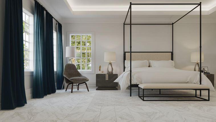 marble look floor